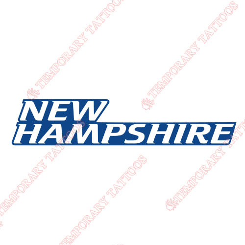 New Hampshire Wildcats Customize Temporary Tattoos Stickers NO.5414
